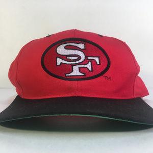 San Francisco 49ers Plain Logo Snapback Hat